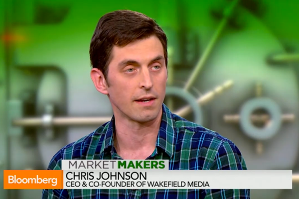 chris johnson of uncubed on wakefield media on bloomberg market makers