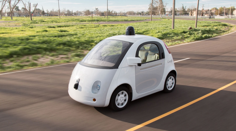 Google self driving car image on Uncubed Edge