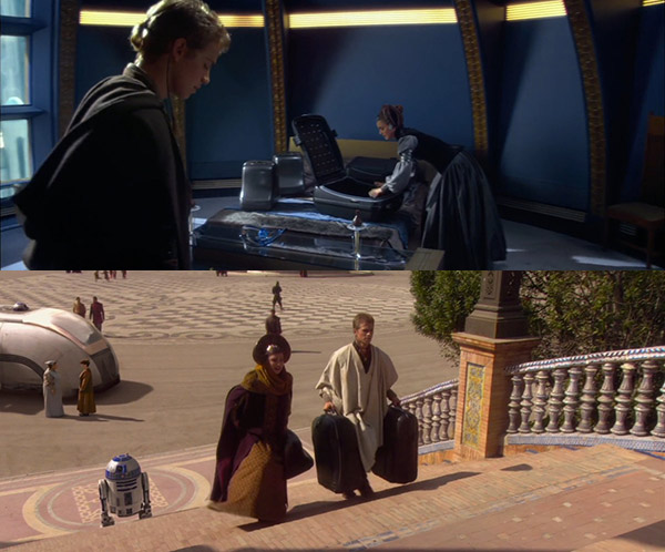 Queen Amidala's Luggage