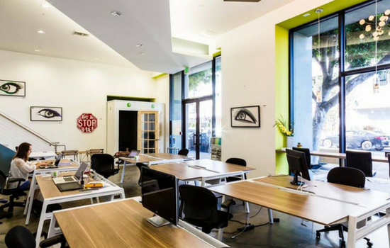 Opodz coworking space in Los Angeles