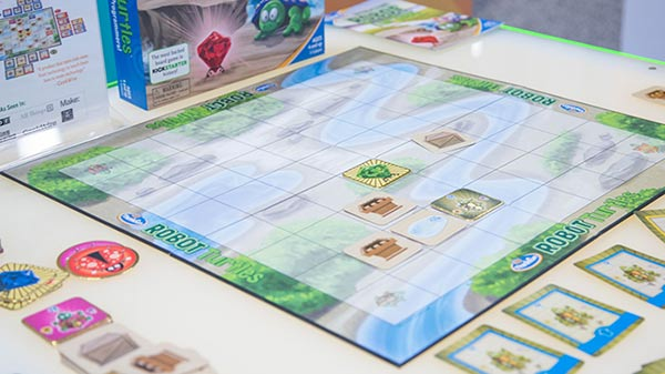 to be confused with the teenage mutants, Robot Turtles is a board game ...